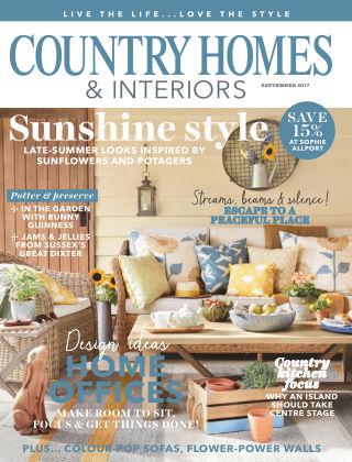 Country Homes & Interiors Magazine Sep 2017
