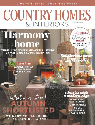 Country Homes & Interiors Oct 2017