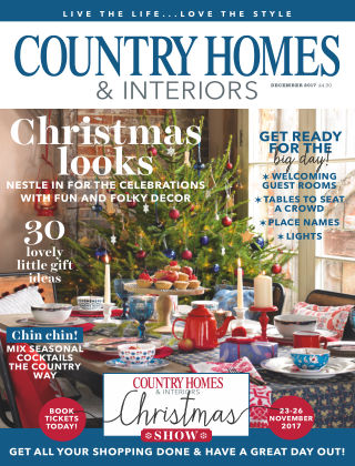 Country Homes & Interiors December 2017