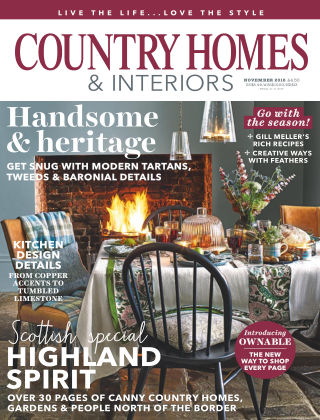 Country Homes & Interiors Nov 2018