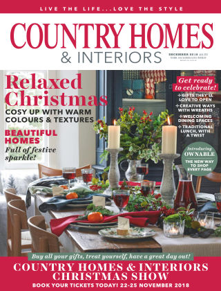 Country Homes & Interiors Dec 2018