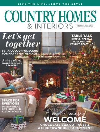 Country Homes & Interiors Jan 2019