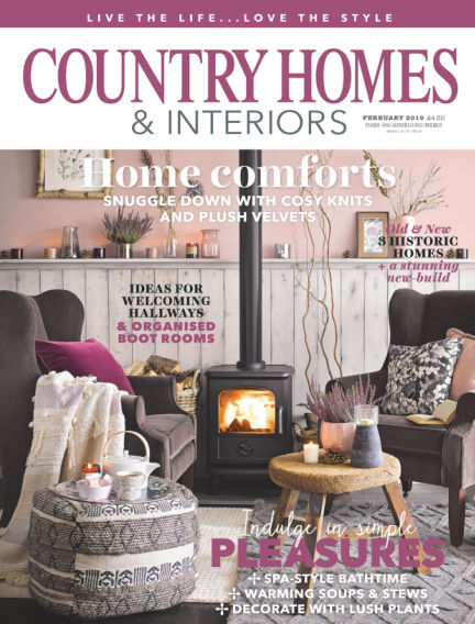 Country Homes & Interiors January 03, 2019 00:00
