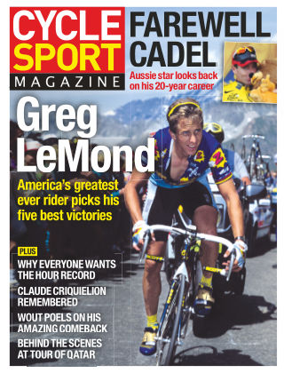 Cycle Sport Magazine May 2015