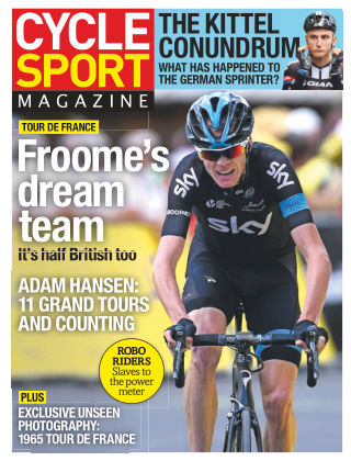 Cycle Sport Magazine August 2015
