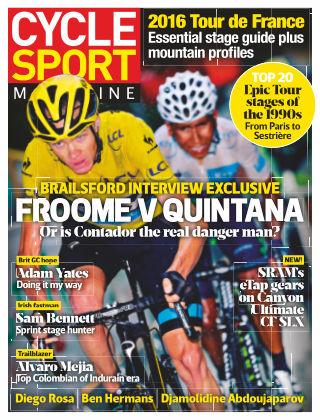 Cycle Sport Magazine Summer 2016
