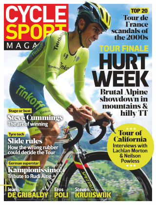 Cycle Sport Magazine August 2016