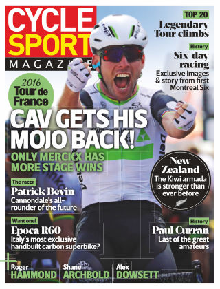 Cycle Sport Magazine September 2016