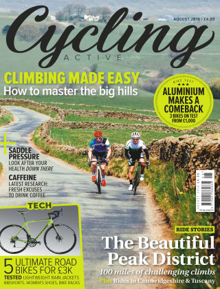 Cycling Active August 2016