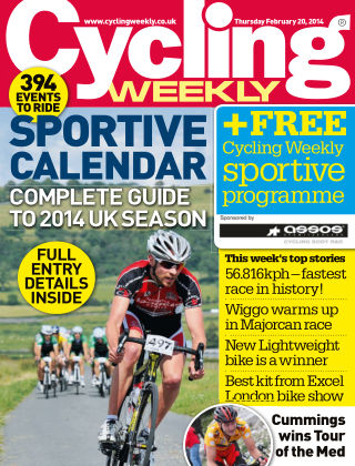 Cycling Weekly 20th February 2014