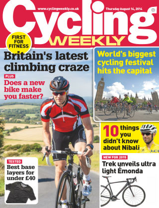 Cycling Weekly 14th August 2014