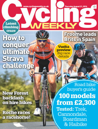 Cycling Weekly 21st August 2014