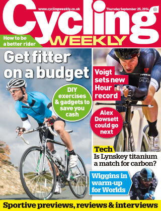 Cycling Weekly 25th September 2014