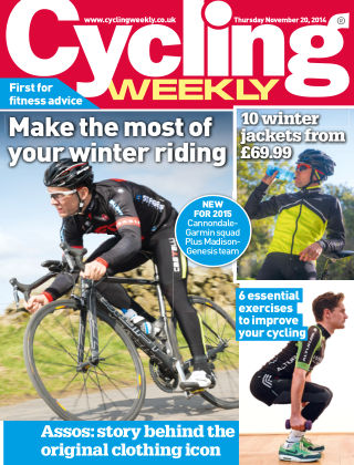 Cycling Weekly 20th November 2014