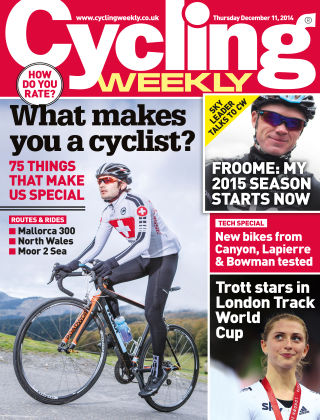 Cycling Weekly 11th December 2014