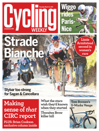 Cycling Weekly 12th March 2015