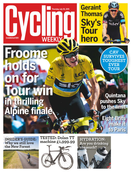 Cycling Weekly August 06, 2015 00:00