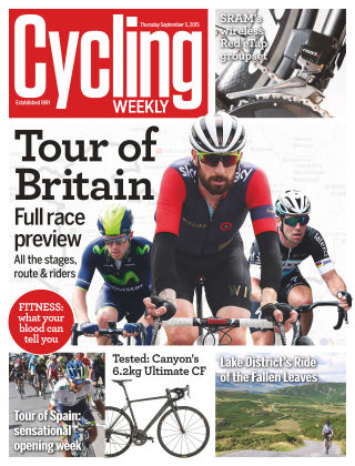 Cycling Weekly 3rd September 2015