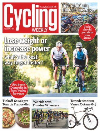 Cycling Weekly 17th September 2015