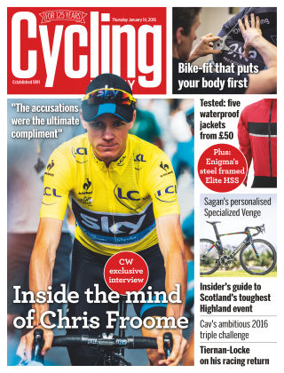 Cycling Weekly 14th January 2016