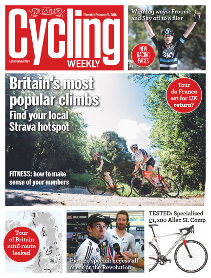 Cycling Weekly February 18, 2016 00:00