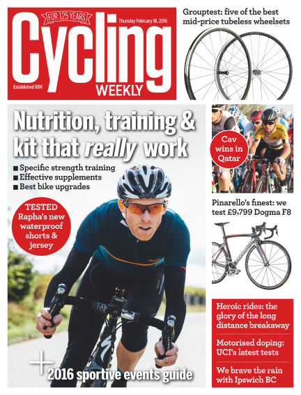 Cycling Weekly February 25, 2016 00:00