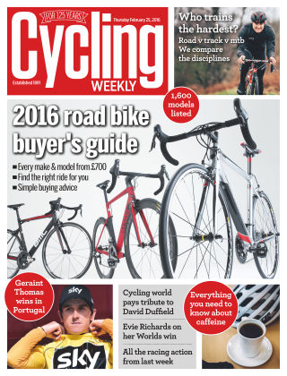 Cycling Weekly 25th February 2016
