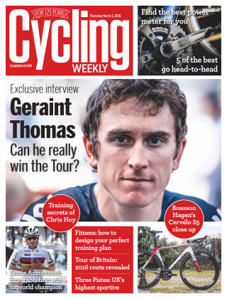 Cycling Weekly 3rd March 2016
