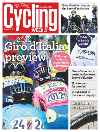Cycling Weekly 5th May 2016