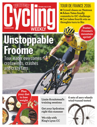 Cycling Weekly 21st July 2016