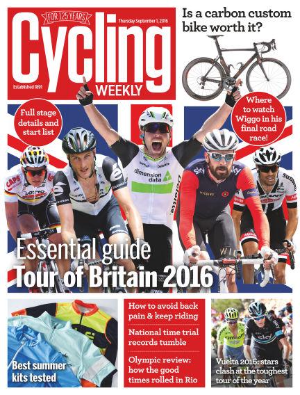 Cycling Weekly September 01, 2016 00:00