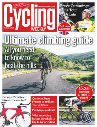 Cycling Weekly 15th September 2016