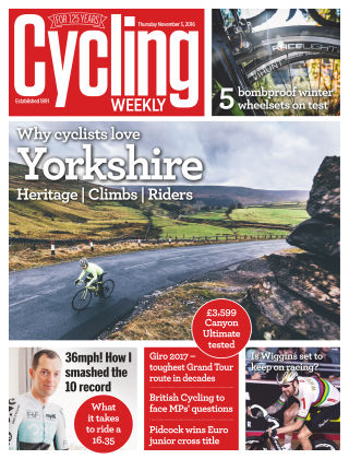 Cycling Weekly 3rd November 2016