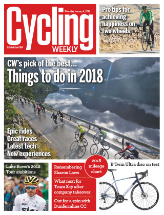 Cycling Weekly 4th January 2018