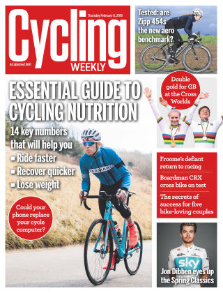 Cycling Weekly 8th February 2018