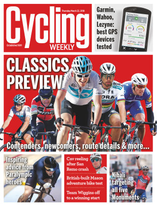 Cycling Weekly 22nd March 2018