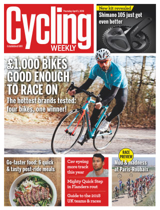 Cycling Weekly 5th April 2018
