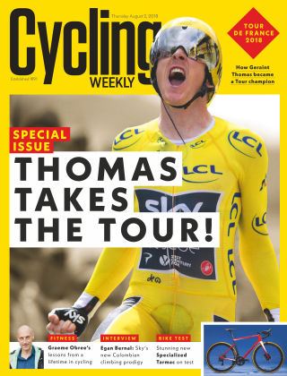 Cycling Weekly 2nd August 2018