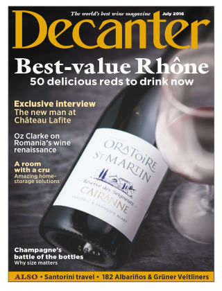 Decanter July 2016