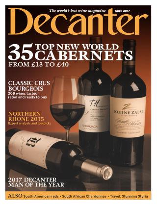 Decanter Magazine April 2017