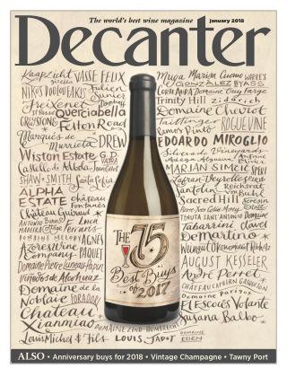 Decanter Magazine Jan 2018