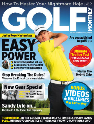 Golf Monthly October 2013
