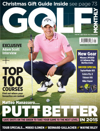 Golf Monthly January 2015
