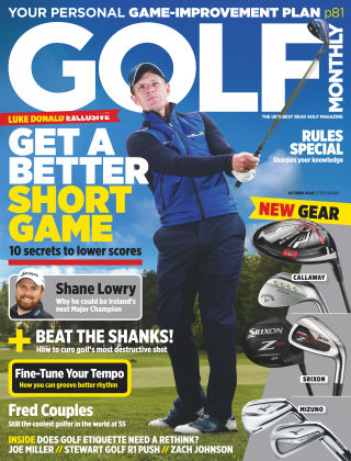 Golf Monthly October 2015