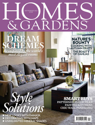 Homes and Gardens - UK September 2013