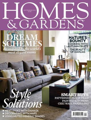 Homes and Gardens - UK September 2013