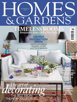 Homes and Gardens - UK October 2013