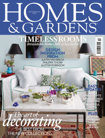 Homes and Gardens - UK October 03, 2013 00:00