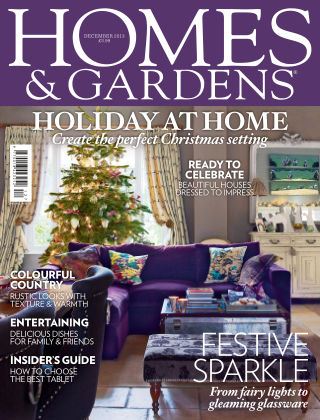 Homes and Gardens - UK December 2013
