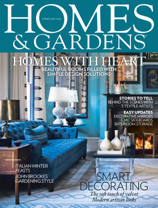Homes and Gardens - UK February 2014